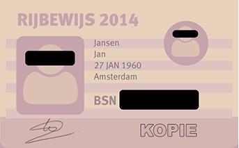 Identiteitsbewijs kopieren